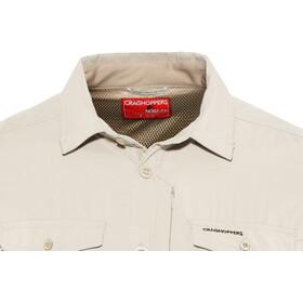 Craghoppers NosiLife Adventure II T-shirt à manches longues Homme, parchment